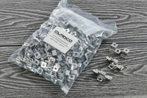 Cladco Composite Decking Pack 100 M4x30ss Wood Screws and Clips DIY composite