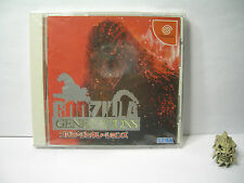 Sega dreamcast Godzilla Generations NTSC-J vers jpn/japan occas/used