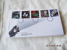 ROYAL MAIL FDC 100 YEARS OF GOING TO THE PICTURES (NO ADDRESS)