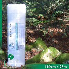 Luftpolsterfolie 100cm x 25m Blasenfolie Noppenfolie Verpackungsfolie Rolle