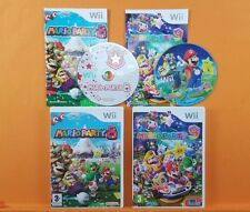 wii MARIO PARTY 8 + 9 PAL ENGLISH Version