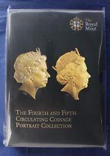 "2015 Royal Mint 8 coin Unc set ""5th Portrait"" in Folder - Sealed   (C8/106)"