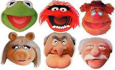 The Muppets Multipack - 6 mascarillas Fiesta Divertida-Producto Con Licencia