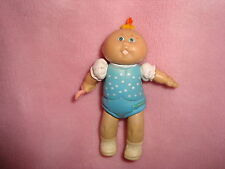 "1984 Jointed/ Poseable Cabbage Patch Kids holding spoon PVC figure 3.5"" tall"
