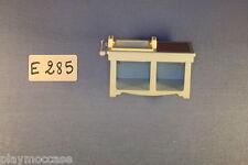 (E285) playmobil évier meuble de cuisine 5300/5322 série rose 1900