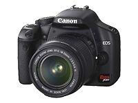 Canon EOS Digital Rebel XSi / EOS 450D 12.2MP Digital SLR Camera - Black (Kit w/