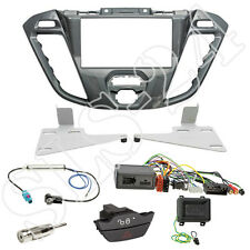 Ford Transit Tourneo Custom Doppel-DIN Blende nebula+Alpine Lenkradinterface Set