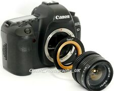 M42 to Canon EOS Adapter (ADJUSTABLE) for ZEISS & PENTAX Lenses on DIGITAL CANON