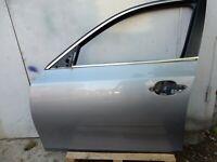 BMW 5 SERIES E60 E61 FRONT LEFT DOOR SILBERGRAU METALIC 38#1