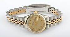 Rolex Oyster Perpetual Date Ref# 6517 Gold & Steel Ladies Wristwatch