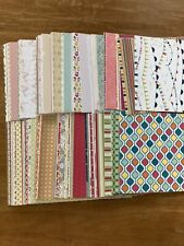 Retired Stampin Up Dedigner Series Paper 6x6 Lot Of 30 Sheets