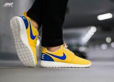 Nike Roshe Run Retro Yellow Size UK9 UK10 EU44 Vintage Blue Summer