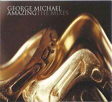 GEORGE MICHAEL - AMAZING (THE MIXES) 2004 UK CD SINGLE CARDBOARD DIGIPAK AEGEAN