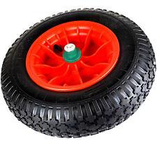 Schubkarrenrad + Achse 4.80/4.00-8 Ersatzrad Rad Kunststofffelgen Räder Luftrad