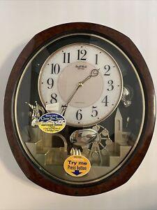 Rhythm Clocks Joyful Land Musical Motion Clock 4MH850 NEW