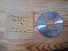 CD NDW Crime & The City Solution - A History Of Crime (16 Song ) Promo MCD MUTE