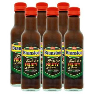 Branston Rich & Fruity Sauce 245g (Pack of 6)