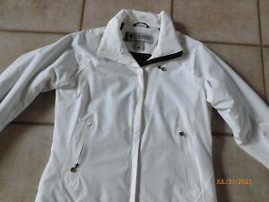 COLUMBIA Women's Titanium Omnitech Insulated Ski Jacket Coat White Large New FS