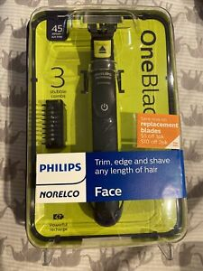 Philips Norelco OneBlade Men's New Electric Razor Shaver Face Trimmer QP2520