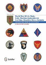 Book - WW II, U.S. Made, Shoulder Sleeve Insignia of World War II