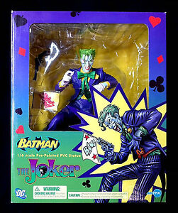The Joker  Batman Kotobukiya Vinyl Statue 1/6 Scale New 2007