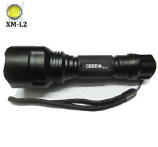 new UltraFire 3000LM CREE C8 XM-L2 LED Tactical Flashlight Torch linternas lamp