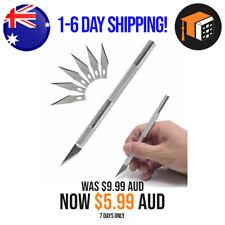 7Pcs Model Making Cutting Knife - Crafts Art Blade X-ACTO Style Razor AUS STOCK