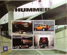 Micronesia la Micronesia 2008 KLB 1864-67 blocco 174 GM Hummer Automobile Auto Car