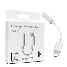 iPhone Lighting to 3.5mm Jack Audio AUX Adapter Headphone Jack POP UP WINDOW