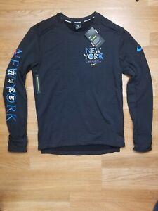 Nike Therma Sphere Running Shirt Men's Element 3.0 NYC Top SZ Medium CQ7820-010