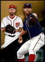 Stephen Strasburg 2019 Topps Gold Label Class One 5x7 Gold #65 /10 Nationals
