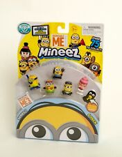 Despicable Me Mineez Minions Characters 6 Pack Series 1 BRAND NEW
