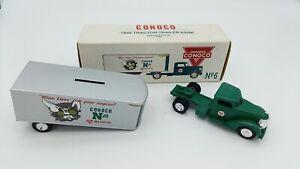 Conoco ERTL 1948 Tractor Trailer Money Box