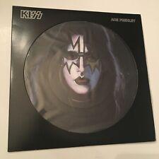 KISS LP ACE FREHLEY SOLO PICTURE DISC 2006 REISSUE EX SHAPE