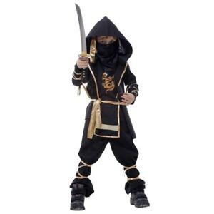 Halloween Costumes for Kids Boy Children Assassin Kung Fu Ninja Warrior Costumes