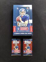 Lot of 2008 Topps Kickoff Hobby Football Packs (2)🔥Possible Tom Brady 🔥