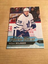 WILLIAM NYLANDER 2016-17 Upper Deck Young Guns #249 RC Rookie Toronto Mapleleafs
