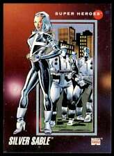1992 Marvel Silver Sable #65
