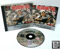 Resident Evil ~ Sony PlayStation PS1 Platinum Game ~ PAL *Very Good CIB*
