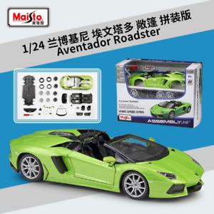 Maisto 1:24 Lamborghini Aventador LP700-4 Assembly Line Metal KIT Model Car