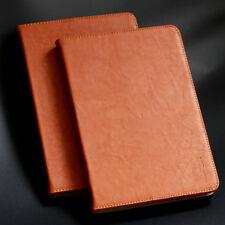 Echt Leder Schutzhülle für Apple iPad Mini 4 - braun - Tablet Case Cover Tasche