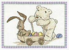 DMC My First Lickle Ted Lickle Playtime Counted Cross Stitch Kit BL596/54
