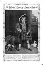 1910 FINE ART Master Crewe as Henry 8th Sir Joshua Reynolds Fashion Children(94)