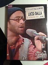 Lucio Dalla concerti live 20 dicembre 1978  CD + DVD