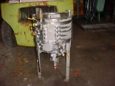 30 Gallon 316 Stainless Steel Jacketed Tank Cone Bottom