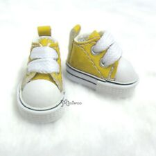 1/6 Bjd Neo B PU Leather Doll Shoes Sneaker Yellow (for Foot 2.3-2.6cm long)