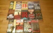 14 JAMES PATTERSON PAPERBACK BOOKS