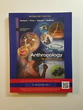 Anthropology : The Human Challenge Paperback 2014