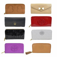 NWT Authentic Tory Burch Robinson Mini Zip Continental Wallet