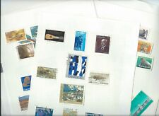 Canada stamps. Collection on 8 pages. Mainly used but some look MH.   . (M669)